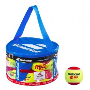 Babolat Tennis Balls Babolat Red Felt  24 Ball Bag 516005