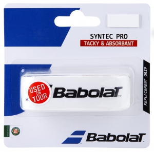 Replacement Grip Babolat Syntec Pro Grip  White 670051101