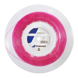 Synthetic Gut String Babolat Synthetic Gut 1.35 200 m Reel  Pink 243121156135