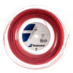 Polyester String Babolat Origin 1.30 200 m Reel  Fluo Red 243126201130