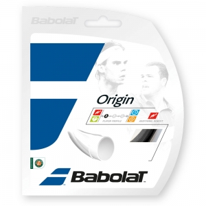 Polyester String Babolat Origin 1.30 12 m Set  Black 241126105130
