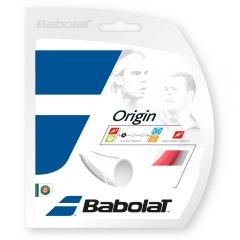 Polyester String Babolat Origin 1.30 12 m Set  Fluo Red 241126201130
