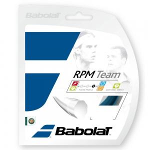 Monofilament String Babolat RPM Team 1.30 12 m Set  Blue 241108136130