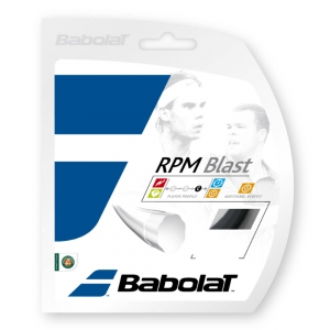 Polyester String Babolat RPM Blast 1.35 12 m Set  Black 241101105135