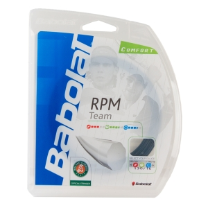 Monofilament String Babolat RPM Team 1.30 12 m Set  Black 241108105130