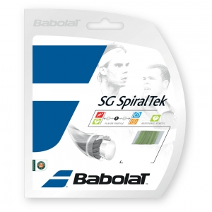 Multifilament String Babolat SG SpiralTek 1.35 Set 12 m  Lime 241124113135
