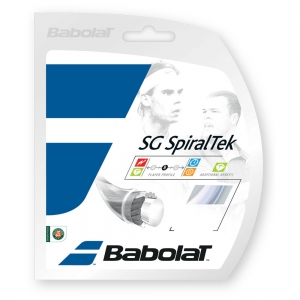 Multifilament String Babolat SG SpiralTek 1.35 Set 12 m  White 241124101135