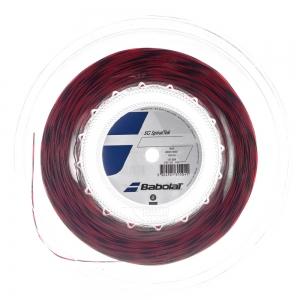 Synthetic Gut String Babolat SG SpiralTek 1.30 200 m Reel  Red/Black 243124104130