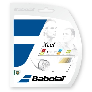 Multifilament String Babolat Xcel 1.35 12 m Set  Natural 241110128135