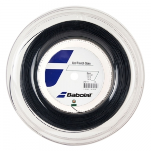 Multifilament String Babolat Xcel French Open 1.30 200 m Reel  Black 243110105130