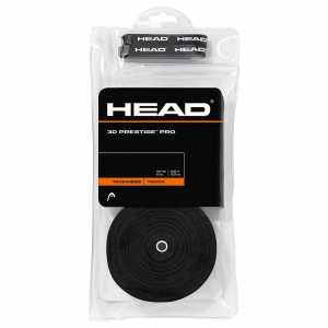 Overgrip Head Prestige Pro OverGrip x30  Black 285445 BK