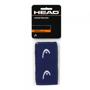 Tennis Head and Wristbands Head 2.5in Wristband  Navy 285075 NV