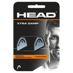 Vibration Dampener Head Xtra Damp Transparent/Black X2 285511 BK