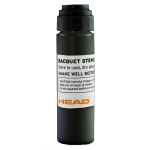 Rackets Accessories Head Stencil Ink Logo  Black 288777 BK