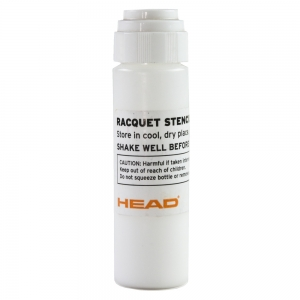 Rackets Accessories Head Stencil Ink  White 288777 WH