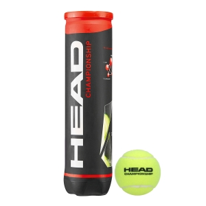 Head Tennis Balls Head Championship  4Ball Can 575204