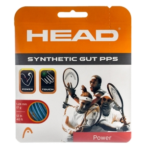 Synthetic Gut String Head Synthetic Gut PPS 1.24 Set 12 m  Blue 281065 17BL