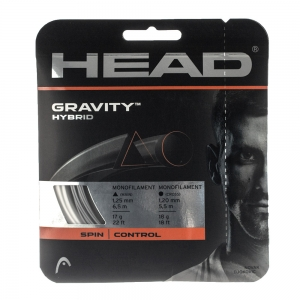 Hybrid String Head Gravity 1.25/1.20  White/Silver  Set 12.2 mt 281124 17WH