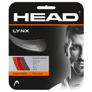 Polyester String Head Lynx 1.20 12 m Set  Red 281784 18RD