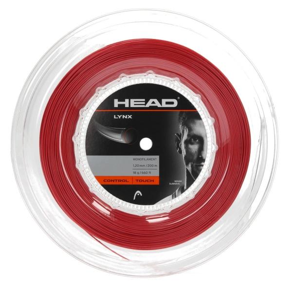 Head Lynx Red 1.20 x 200m tennis reel