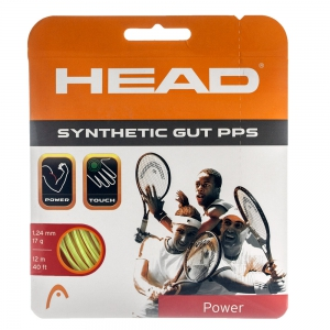 Synthetic Gut String Head Synthetic Gut PPS 1.24 12 m Set  Yellow 281065 17YW