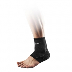 Supports Nike Advantage Knitted Ankle Sleeve  Black/Grey N.MS.75.031