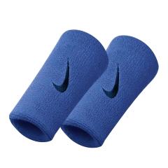 Tennis Head and Wristbands Nike DoubleWide Swoosh Wristband  Blue/Black N.NN.05.437.OS