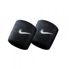Nike Swoosh Wristbands - Black/White