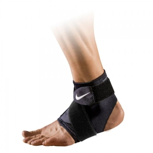 Supports Nike Pro 2.0 Ankle Wrap  Black N.MZ.07.010