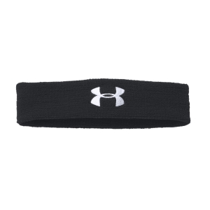 Tennis Head and Wristbands Under Armour Performance Headband  Black/White 1276990001