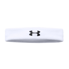 Tennis Head and Wristbands Under Armour Performance Headband  White/Black 1276990100