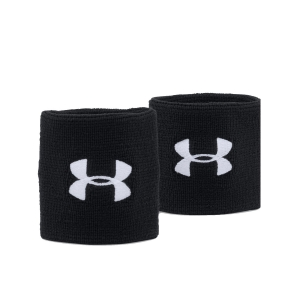 Tennis Head and Wristbands Under Armour Performance Wristbands  Black 1276991001