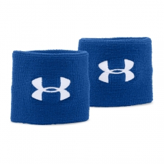 Tennis Head and Wristbands Under Armour Performance Wristbands  Blue/White 12769910400