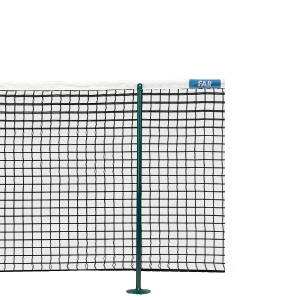 Tennis Net Movable Double Poles for Single Game 73130005