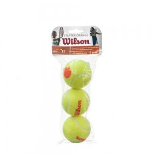 Wilson Tennis Balls Wilson Starter Orange Balls pack x3 WRT137300