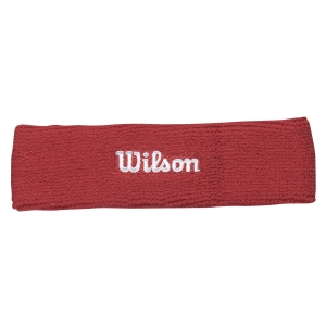 Tennis Headbands Wilson Headband  Red WR5600190