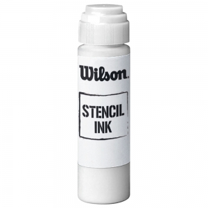 Rackets Accessories Wilson Stencil Ink Logo  White WRZ742500