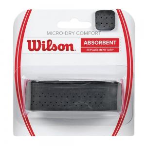 Replacement Grip Wilson Micro Dry Comfort Grip  Black WRZ4211BK