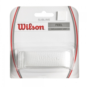 Grip Sostitutivo Wilson Sublime Grip  White WRZ4202WH