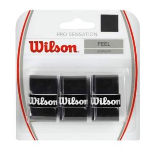 Overgrip Wilson Pro OverGrip Sensation SuperThin X3  Black WRZ4010BK