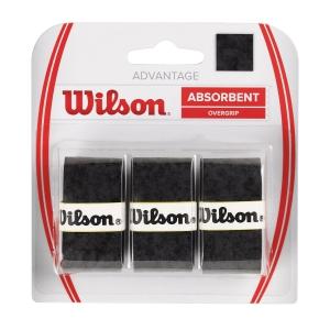Overgrip Wilson Advantage Overgrip x3  Black WRZ4033BK
