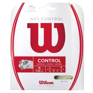 Multifilament String Wilson NXT Control 1.32 12 m Set  Natural WRZ941900