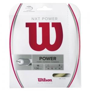 Multifilament String Wilson NXT Power 1.30 12 m Set  Natural WRZ941600