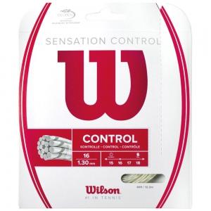 Multifilament String Wilson Sensation Control 1.30 12 m Set  Natural WRZ941200