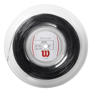Polyester String Wilson Revolve 1.30 200 m Reel  Black WRZ906800