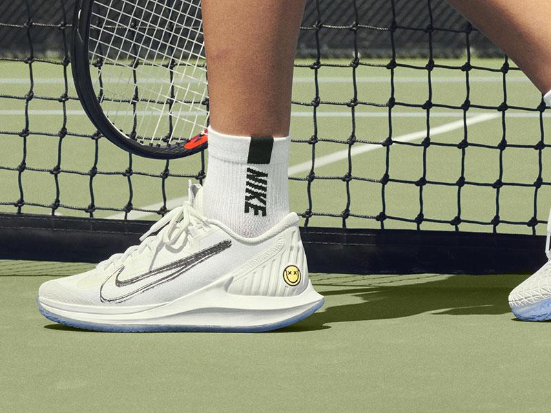 nike tennis court donna