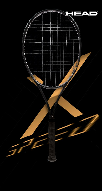 Head Speed X Black and Gold Design for the 10 years of Speed