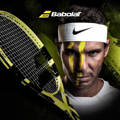 New Babolat Pure Aero Nadal's racket