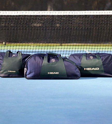 1fbb44a83 Head Maria Sharapova. The line of bags ...