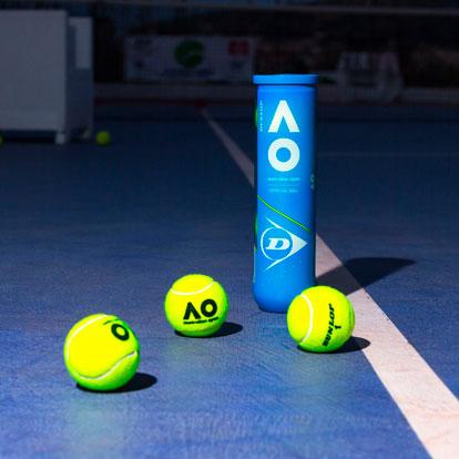 Dunlop Australian Open The official balls
